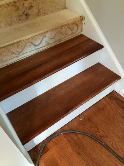 Stair Tread Installation